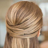 Pinned-up-hairstyle